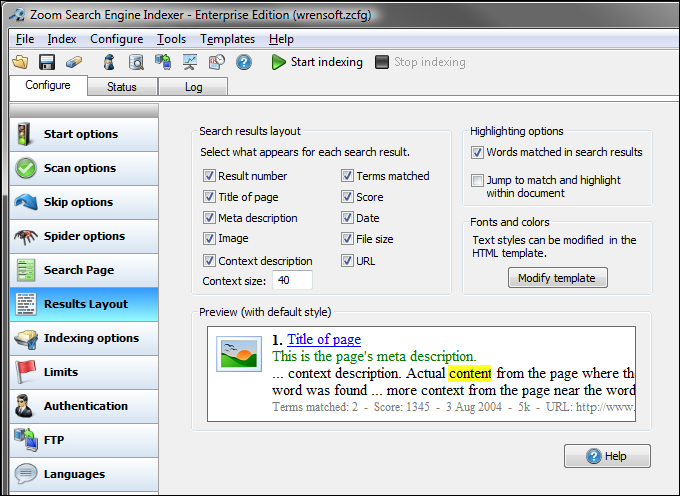 Windows 7 Zoom Search Engine Free Edition 7.1.1022 full