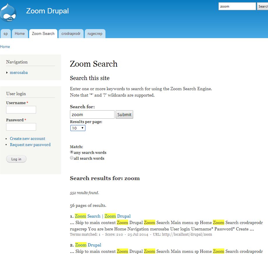How to create a search engine for your Drupal site using